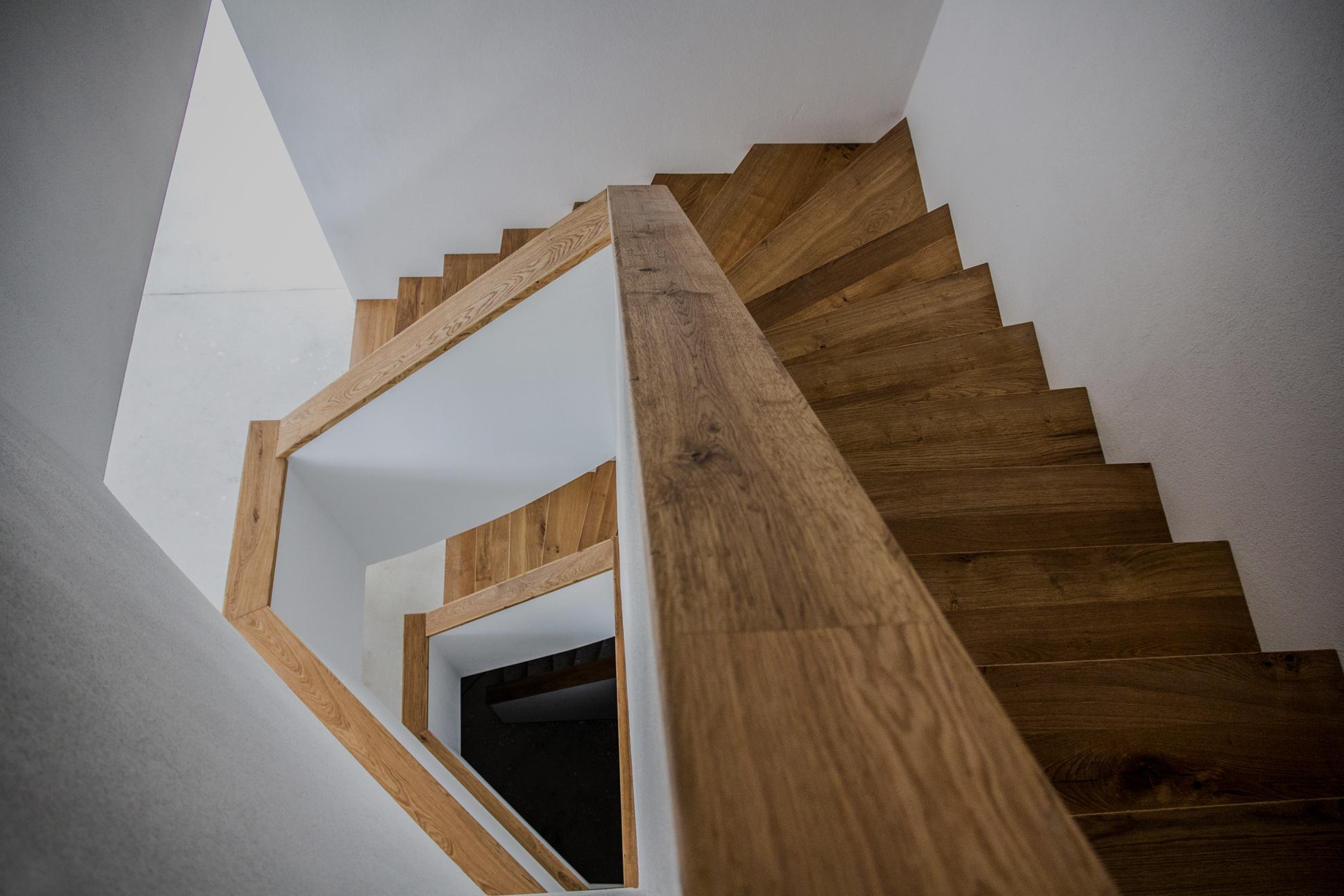 Landhausdielen für Boden und Treppe